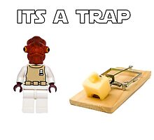 It's a Trap by LittleRedTrike