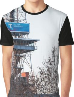 Towers and Trees Graphic T-Shirt