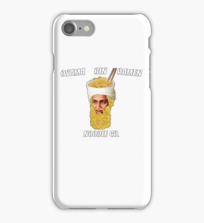 Osama Bin Ramen Noodle Co. iPhone Case/Skin