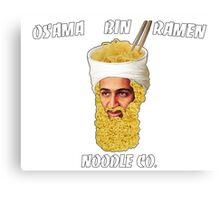 Osama Bin Ramen Noodle Co. Canvas Print