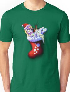Stocking Derpy Pony (Large print) Unisex T-Shirt