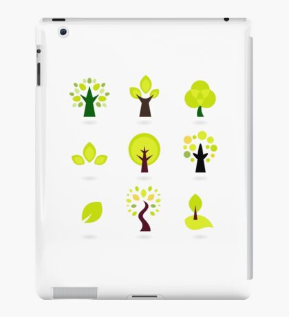 Trees green art collection. New art arrival in shop iPad Case/Skin