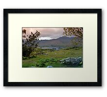 Ladies View. Framed Print