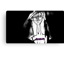 SHE IS BECOME DEATH Canvas Print