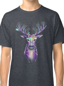 Forest Stag with Tree Antlers Classic T-Shirt