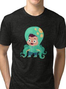 Halloween Kids - Tentacles Tri-blend T-Shirt