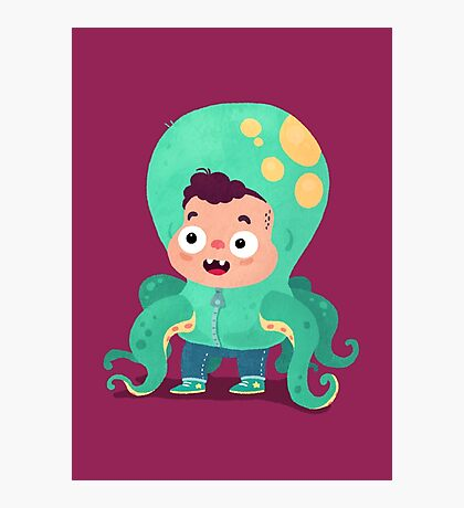Halloween Kids - Tentacles Photographic Print