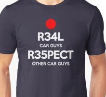Real Respect (4) Unisex T-Shirt