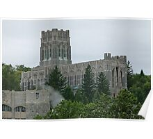 West Point Chapel (exterior) Poster