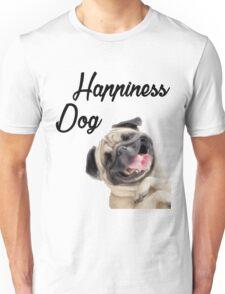 Happiness Dog Unisex T-Shirt