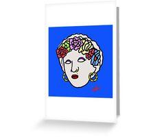 The Greek gipsy Greeting Card