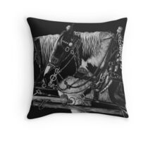 Drafted Throw Pillow