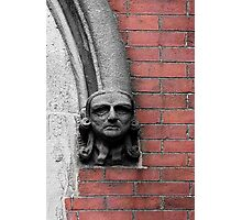 Stone-Faced © Photographic Print