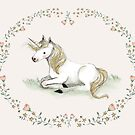 Unicorn,  Nursery art - Nursery decor - Kids room decor - Children's art by PaolaZakimi