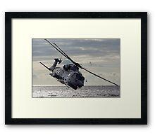 Merlin Helicopter Framed Print