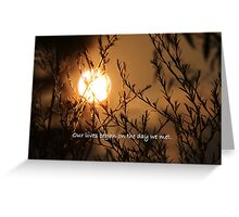 Our Lives Began... Greeting Card