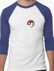 Pokeball Vector Men's Baseball ¾ T-Shirt