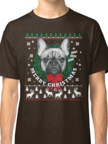 Merry Christmas French Bulldog Classic T-Shirt