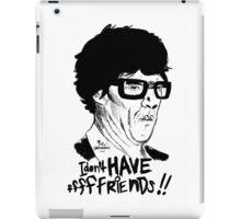 Hipster Sherlock Etch iPad Case/Skin