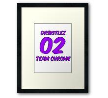 DrSkitlez- Team Chrome Guild RotMG Framed Print
