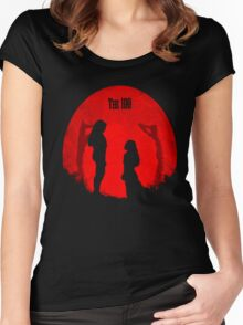the 100 moons Women's Fitted Scoop T-Shirt