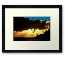 CAPE KIWANDA  OREGON Framed Print