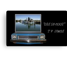 """""""old is cool""""    Canvas Print"""