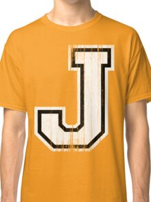Big Sports Letter J Classic T-Shirt