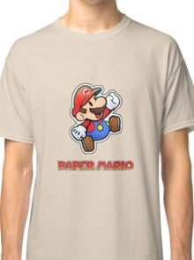 Paper Mario Game Classic T-Shirt