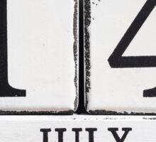 July 14 Sticker
