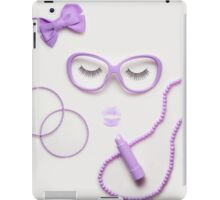 Sleeping beauty. iPad Case/Skin