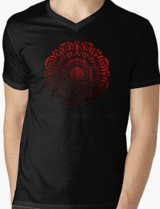 The Red Lotus Insignia Mens V-Neck T-Shirt