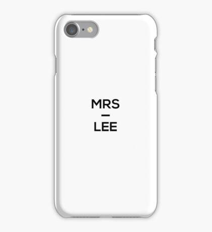 Mrs Lee - Caspar Lee - YouTuber iPhone Case/Skin