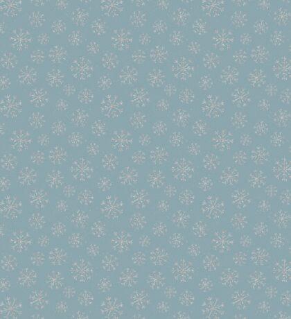 Silver snowflakes Sticker