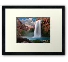 Havasupai Falls Framed Print