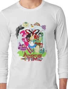 Fionna and Cake - Alice in wonderland Long Sleeve T-Shirt