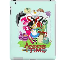 Fionna and Cake - Alice in wonderland iPad Case/Skin