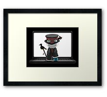 Cry Plays The World Framed Print