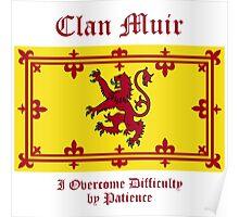 Muir - Scottish Clan Poster