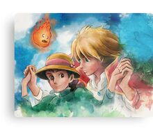 One Magical Family Sophie and Howl Metal Print
