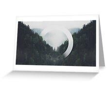 Trees n Fog Greeting Card