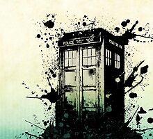 Doctor Who Tardis by debbie6gymnast