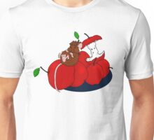 Napping on Apples Unisex T-Shirt