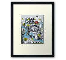 Abstract London Framed Print