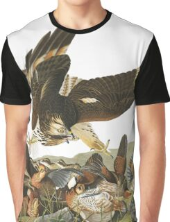 Northern Bobwhite - John James Audubon Graphic T-Shirt