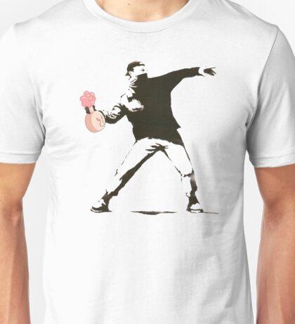 Banksy w/ Plumbus Unisex T-Shirt