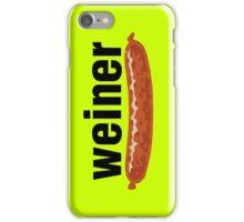 weiner (w. sausage) iPhone Case/Skin