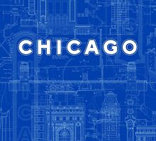 Chicago Icons by David Tribby