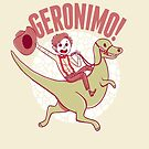 Geronimo-Dino! by nowaitwhat