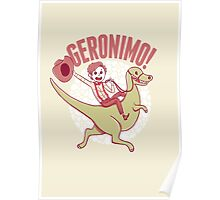 Geronimo-Dino! Poster